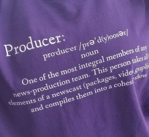 Define News Producer Shirt Shop Order Buy