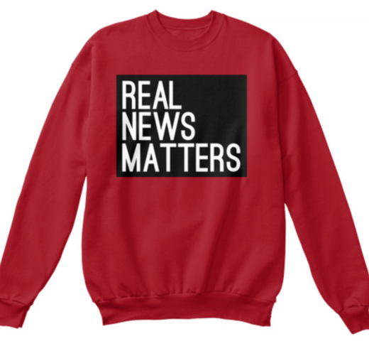 Real News Matters Sweatshirt