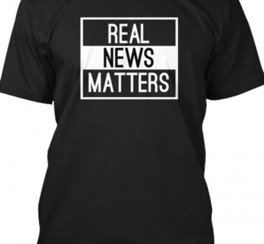 Real News Matters T Shirt