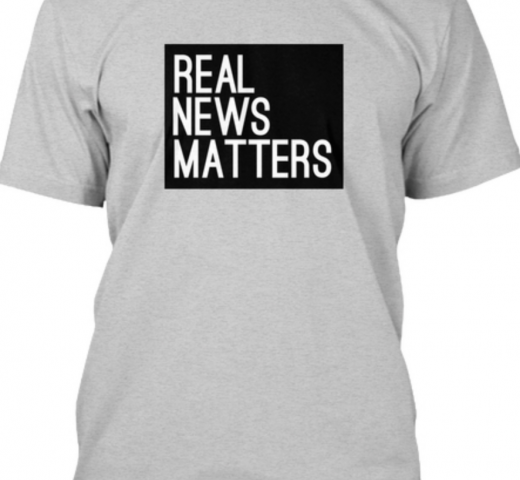 Real News Matters T Shirt Local TV