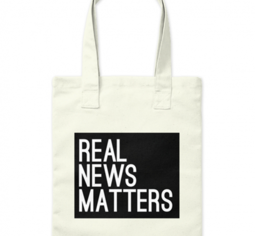Real News Matters Tote bag