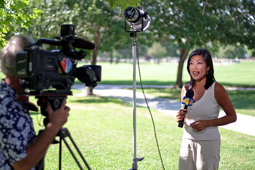 Quick Guide Nailing Incredible Live Shots tv news local newsroom