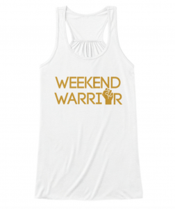 weekend warrior white tank top tv news local newsroom