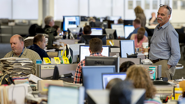 OPINION Could Newsroom Work Conditions Improve Yes Starting With