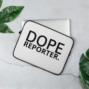 dope reporter laptop sleeve