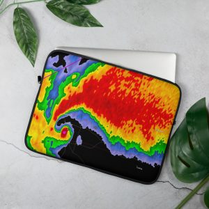 Echo hook laptop sleeve