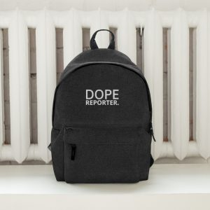Dope reporter backpack black