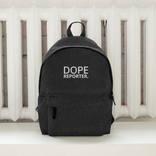 Dope reporter backpack black
