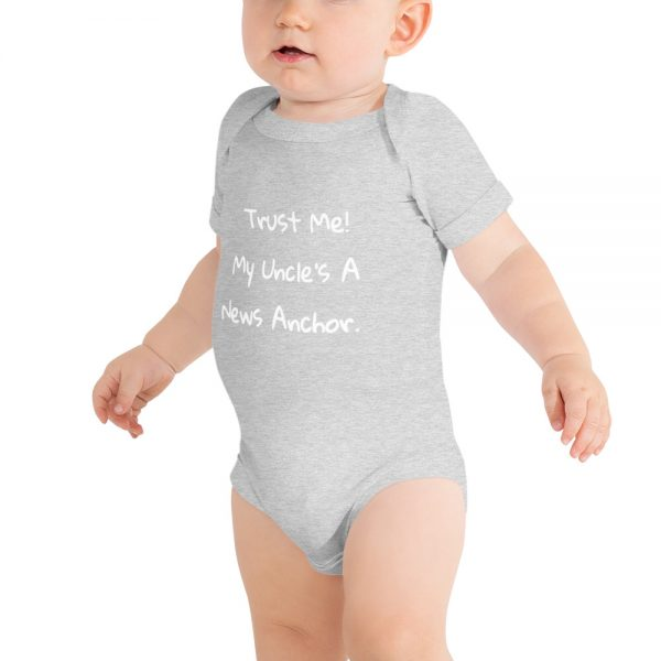TWISTED ENVY Im Cute Mums Cute Dads Lucky Baby Unisex Novelty Infant Bodysuit Baby Grow