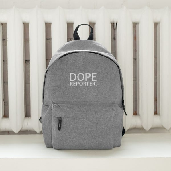 dope reporter backpack gray