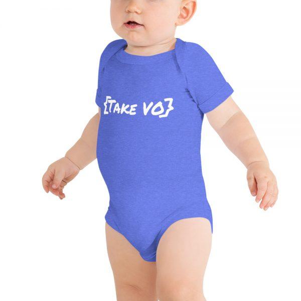 {Take VO} Onesie for newsroom babies