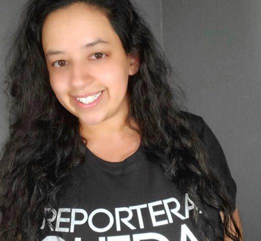 Reportera chida local news ratemystation black shirt newsroom