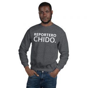 Reportero Chido Sudadera Unisex grey