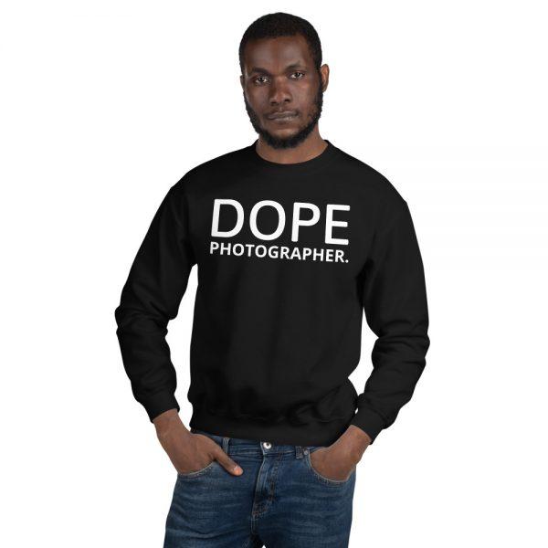 Dope photog unisex sweatshirt local news black