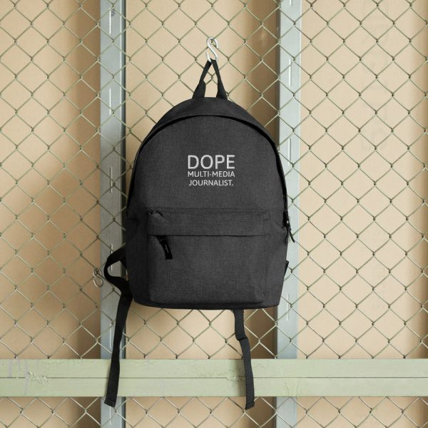 Dope MMJ backpack dark gray