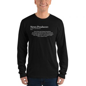 define producer long sleeve tshirt black