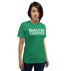 master control unisex tshirt green