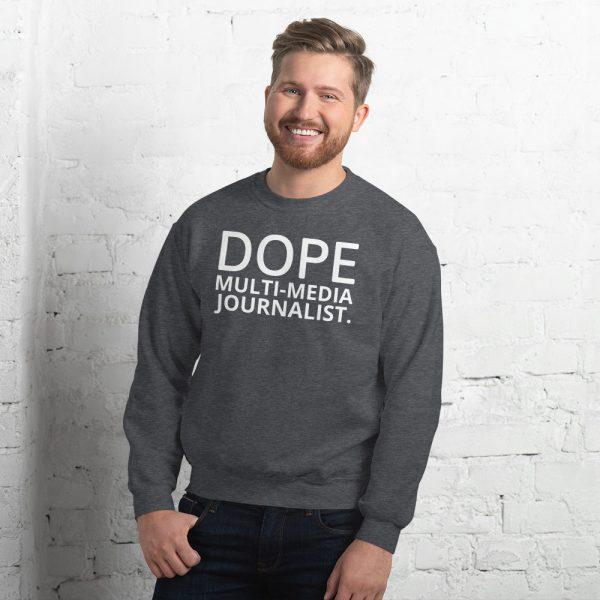 Dope MMJ unisex sweatshirt grey