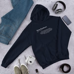 Define producer hoodie navy blue
