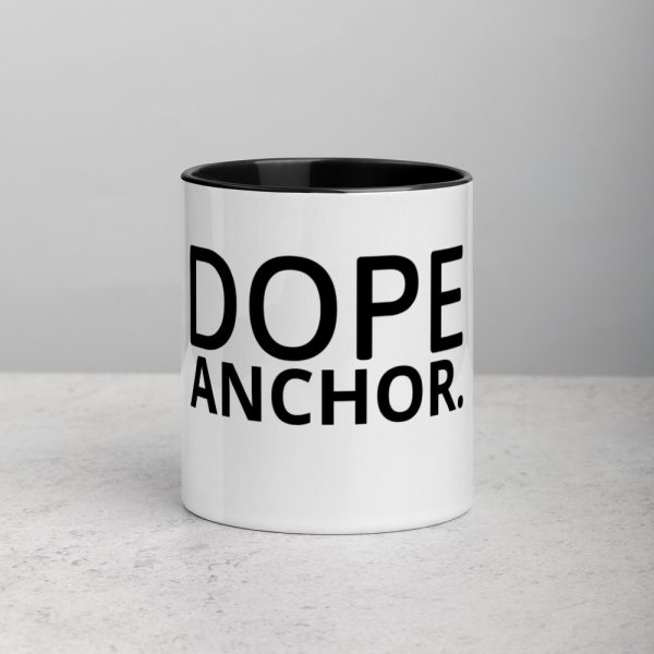 Dope Anchor mug with color inside