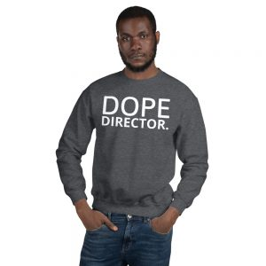 Dope Director Unisex Sweatshirt grey