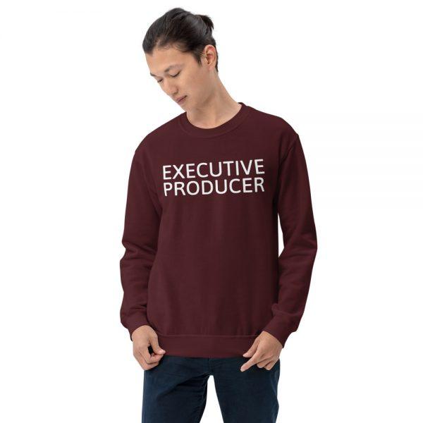 Executive Producer sweatshirt maroon