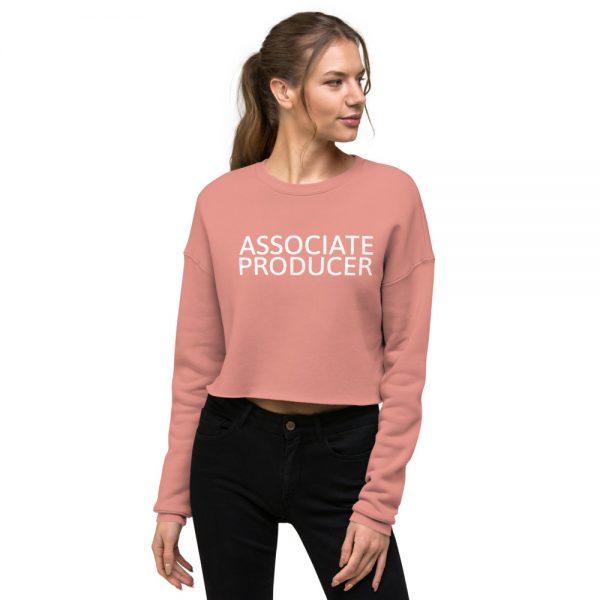 Associate Producer Crop Sweatshirt pink