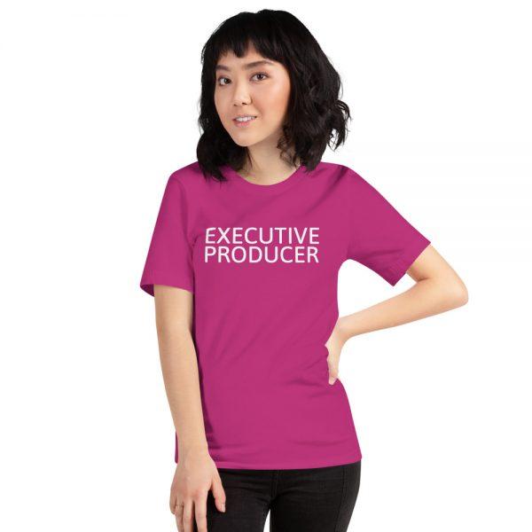 Executive Producer Unisex T-Shirt hot pink