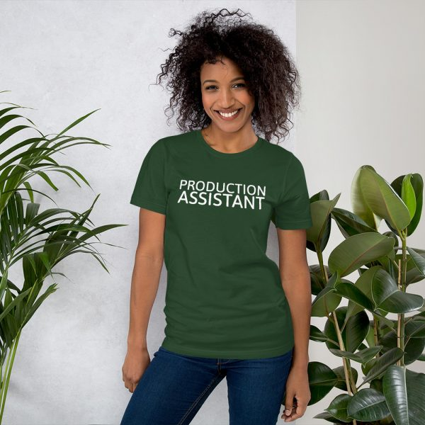 Production Assistant T-Shirt dark green