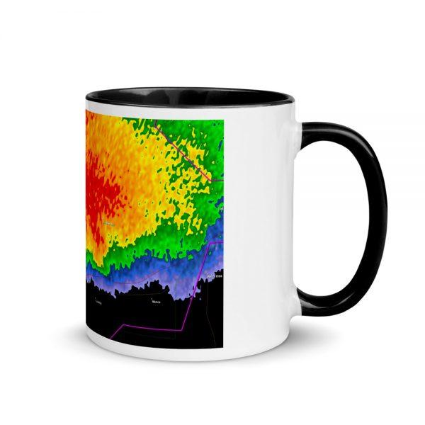 Echo Hook Mug with Color Inside black
