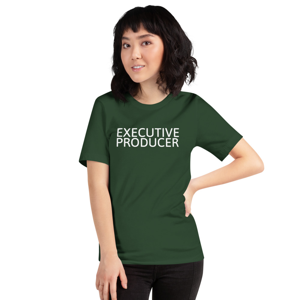 Executive Producer t-shirt green