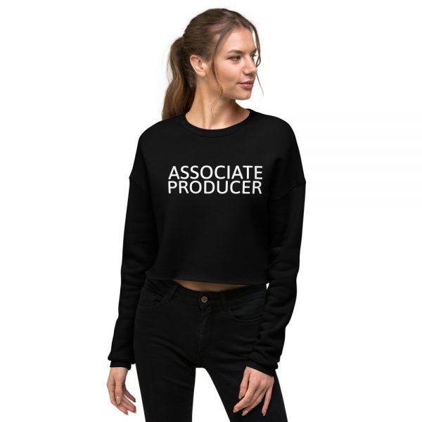 Associate Producer Crop Sweatshirt black