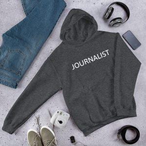 Journalist Unisex Hoodie Dark Gray