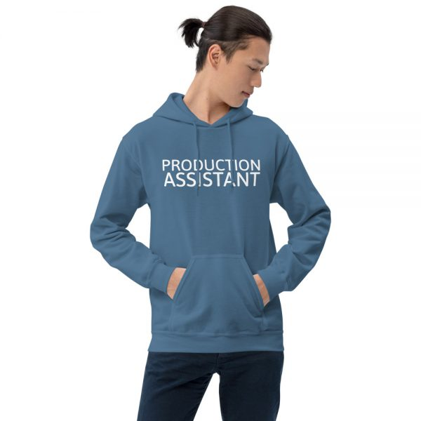 Production Assistant Hoodie blue