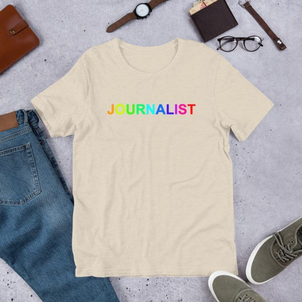 Journalist Pride Rainbow T-Shirt