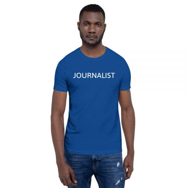 Journalist Unisex T-Shirt dark blue