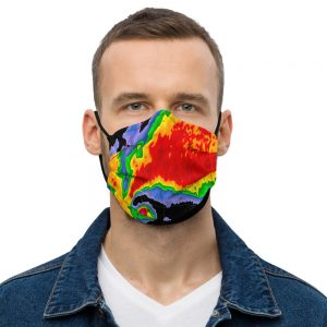 Hook Echo Face Mask black