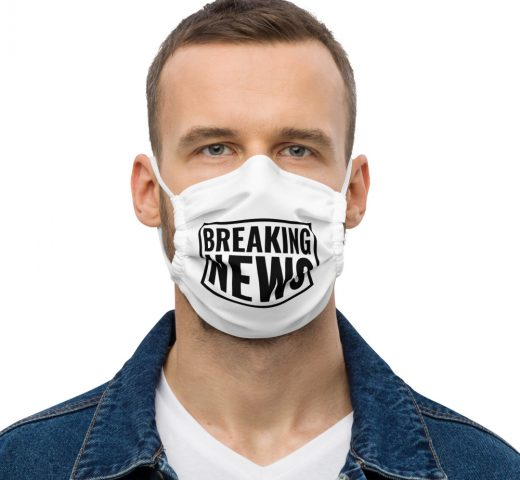 Breaking News Face Mask