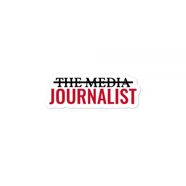 I'm Not The Media Stickers